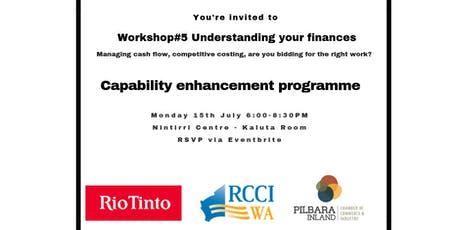 PICCI Business After Hours - RTIO CEP Workshop #6 Understanding your finances tickets