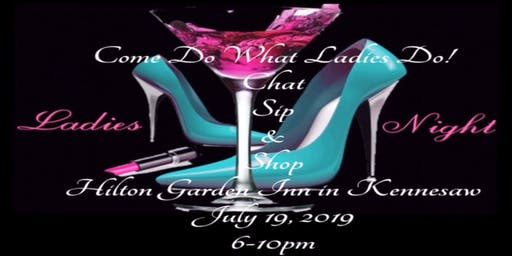 Ladies Night Sip & Shop Mixer
