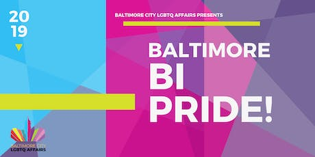 Baltimore Bi Pride 2019 tickets