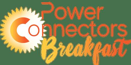 Power Connectors Breakfast tickets