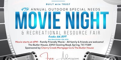 4th Annual Special Needs Outdoor Movie Night & Resource Fair