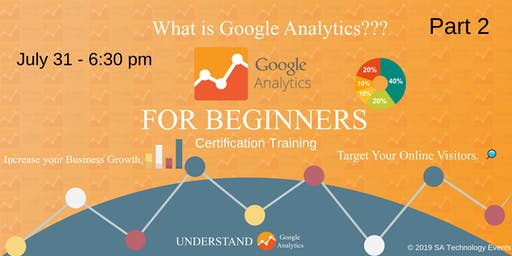 Google Analytics Training for Certification Part 2