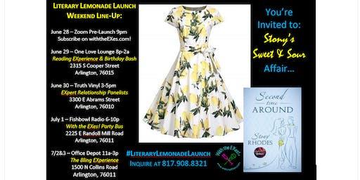 Literary Lemonade Launch Reading EXperience & Birthday Bash