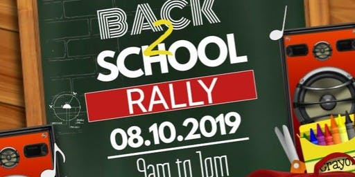 11th Annual Citywide Back to School Rally: Sponsored by NCC