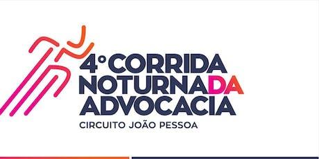 4° CORRIDA NOTURNA DA ADVOCACIA ingressos