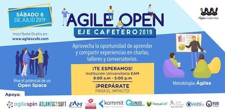 Agile Open Eje Cafetero 2019 entradas