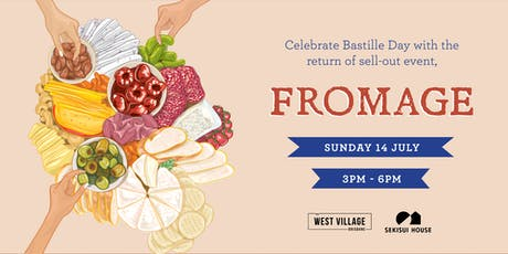 Celebrate Bastille Day at West Village's Fromage tickets