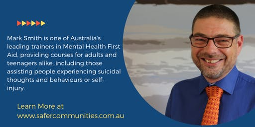 14 Hour Youth Mental Health First Aid - Perth Maddington