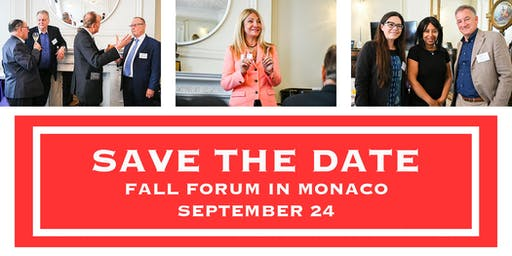 Swiss Growth Forum Fall Edition 2019 in Monaco
