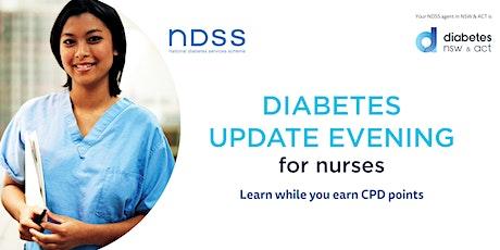 Diabetes Update Evening for Nurses - Tamworth tickets