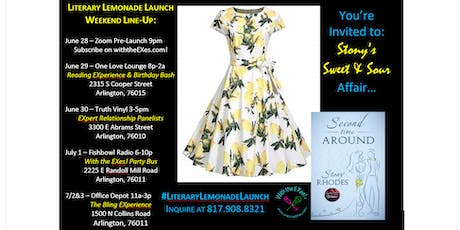 Literary Lemonade Launch Listening Party & With the EXes! Relationship Guests Panelists  tickets