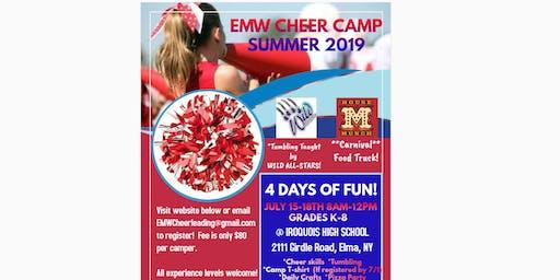 EMW Cheer Camp Summer 2019