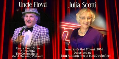 Comedian Julia Scotti & Uncle Floyd