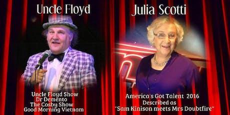 Comedian Julia Scotti & Uncle Floyd tickets