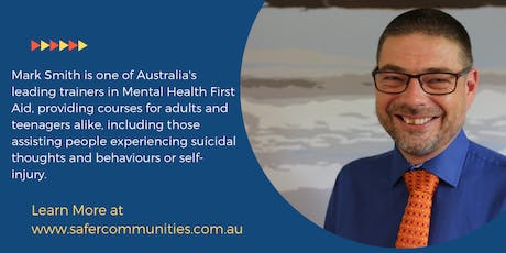 14 Hour Youth Mental Health First Aid - Gold Coast - Broadbeach Waters tickets