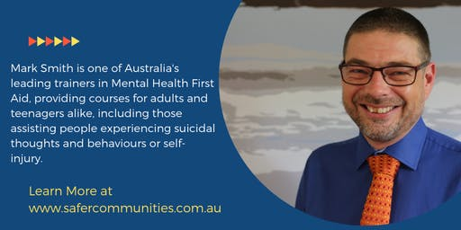 14 Hour Youth Mental Health First Aid - Gold Coast - Broadbeach Waters
