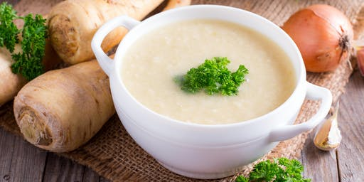 Lunch & Learn: Creamy Parsnip Soup