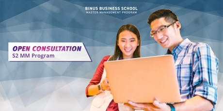 Konsultasi Pendidikan S2 Blended Learning Program Binus Business School | 17 - 19 Juli 2019 @Malang tickets