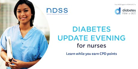 Diabetes Update Evening for Nurses - Coffs Harbour tickets