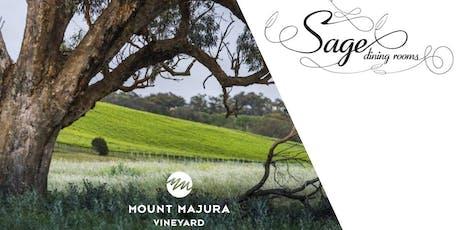 Sage Dining & Mt Majura Wine Dinner tickets