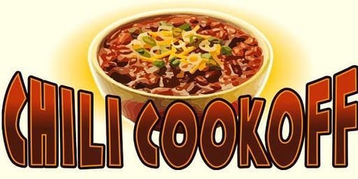 Vendors Needed: To provide concessions during a public chili cook off