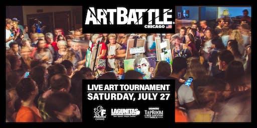 Art Battle Chicago - July 27, 2019