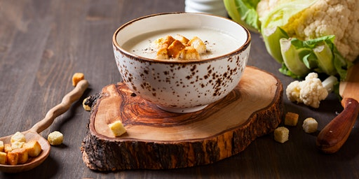 Holiday Lunch & Learn: Cauliflower & Chestnut Soup