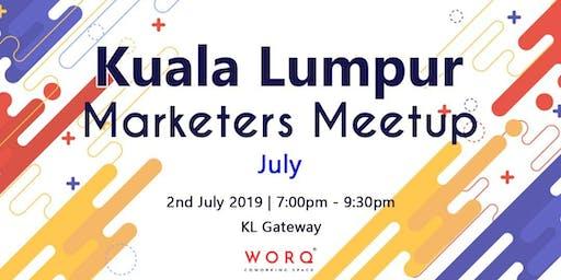 Kuala Lumpur Marketers Meetup (July 2019)