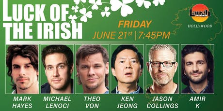 Theo Von, Ken Jeong and more - Luck of the Irish! tickets
