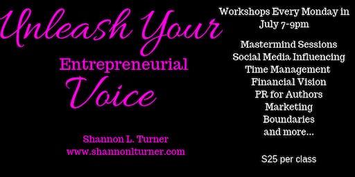 Unleash Your Entrepreneurial Voice Workshops