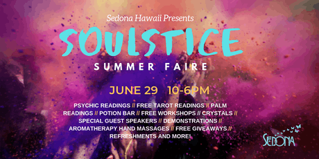 SOULSTICE FAIRE at Sedona tickets