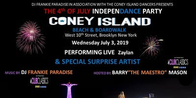 Pre-4 Th of July Coney Island Boardwalk Party Frankie Paradise