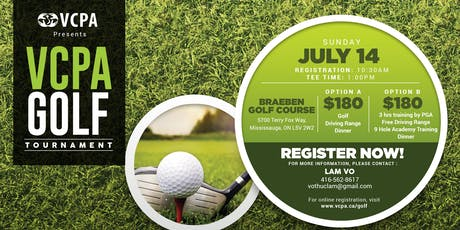 VCPA Golf Tournament tickets