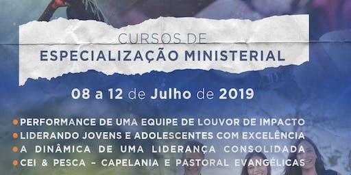 Especialização Ministerial -PERFORMANCE DE UMA EQUIPE DE LOUVOR DE IMPACTO