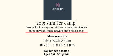SumHer Camp - Session #1 tickets