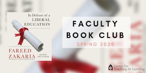 Faculty Book Club: April (Spring 2020)- Monday 12:30 p.m