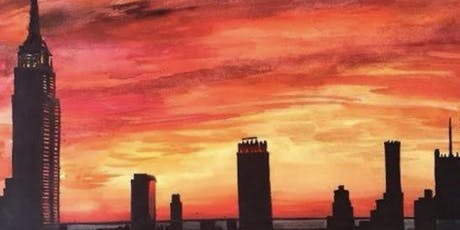 SUNSET SIP & PAINT NY SKYLINE IN CENTRAL PARK  B.Y.O.B.- Tues. Eve. July 9  tickets
