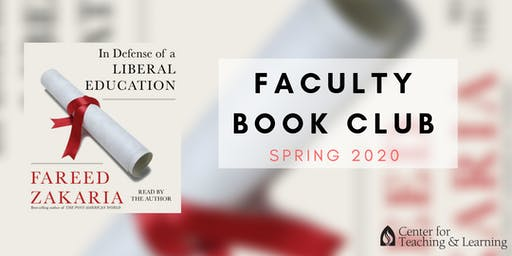 Faculty Book Club: January (Spring 2020)- Monday 12:30pm