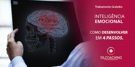 Inteligência Emocional - Como Desenvolver em 4 passos. ingressos