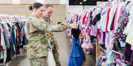 Military Family Early Shopping at Just Between Friends (FREE)