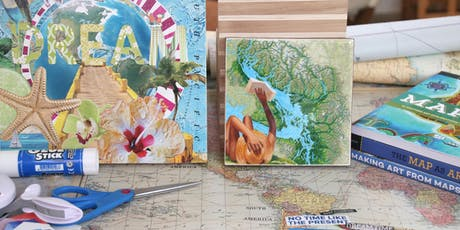 Creative Cartography: Map Collage (Day Retreat) tickets