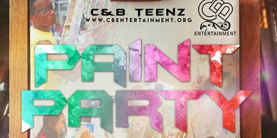 C&B Teenz Paint Party!