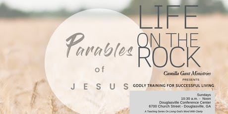 GODLY TRAINING FOR SUCCESSFUL LIVING: The Parables of Jesus tickets