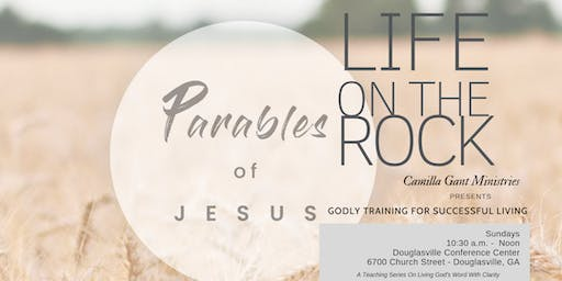 GODLY TRAINING FOR SUCCESSFUL LIVING: The Parables of Jesus