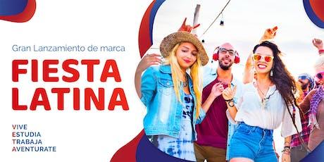 Gran Lanzamiento de Marca - Fiesta Latina - Mexico entradas