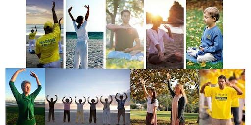 Free Exercise and Meditation Class for Falun Dafa