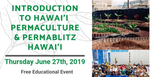 Intro to Hawaii Permaculture - Free Workshop