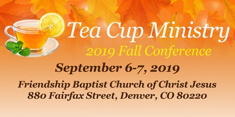 Tea Cup Ministry 2019 Fall Conference tickets