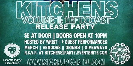 Kitchens 2-$teezymvnee Release Party tickets
