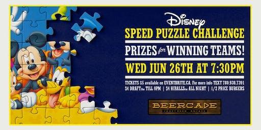 Disney Puzzle Night